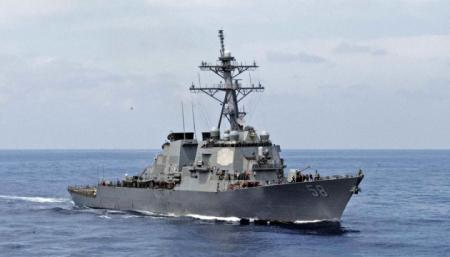 Американский эсминец вошел в Черное море