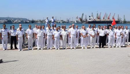Украинские военные приняли участие в многонациональных учениях в Черном море
