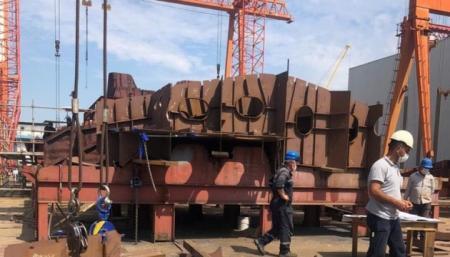 В Турции строят первый корвет класса ADA для украинских военных