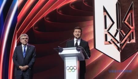 Наша країна заслуговує на проведення Олімпійських ігор – Зеленський
