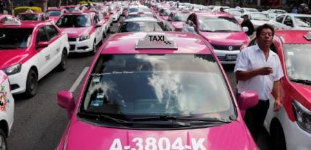 Бунт таксистов в Мехико: город парализовало
