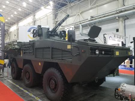 В Украине представили новый бронетранспортер