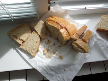 Жителю Киевской области продали хлеб с «сюрпризом»