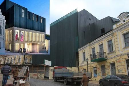 Не судите о картине по первым мазкам: в ROSHEN прокомментировали скандальную реконструкцию театра на Андреевском спуске
