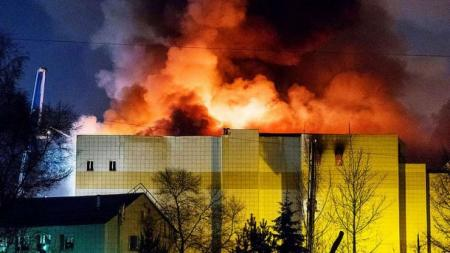 В России начался суд по делу о пожаре в ТРЦ «Зимняя вишня»