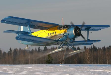 Antonov_An-2R_on_ski_Ryabtsev