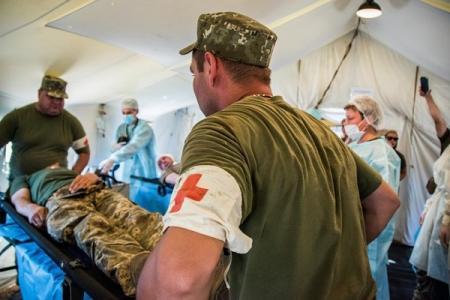 Группа военных подорвалась в зоне ООС, есть жертвы