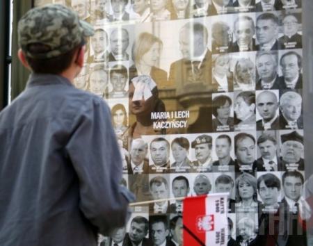 В Польше эксгумировали 42 жертвы Смоленской катастрофы