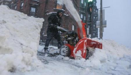 Снег загнал Францию в «оранжевую» опасность