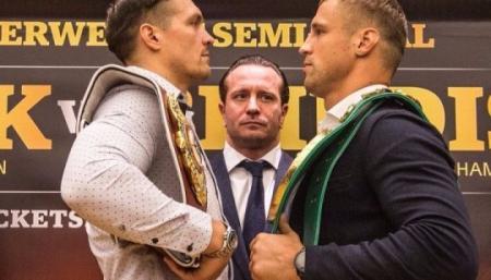 Стали известны гонорары Усика и Бриедиса за полуфинал боксерской суперсерии (WBSS)