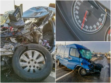 В Киеве столкнулись несколько авто, трое пострадавших