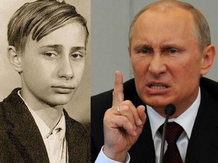 Путин вспомнил молодость – жили небогато