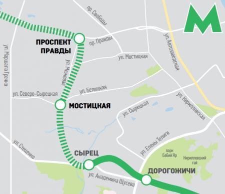 У Кличко назвали стоимость строительства метро от станции Сырец на Виноградарь