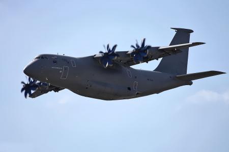 Украинский военный транспортник Ан-70 «сбросит» российские детали