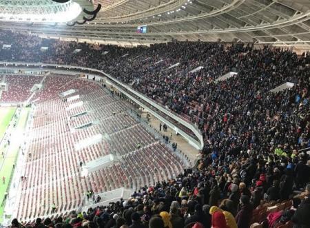 Свинство по-русски: над зрителями матча Россия-Аргентина поиздевались организаторы в Лужниках