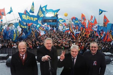 В России официально зарегестрировали первого кандидата в президенты