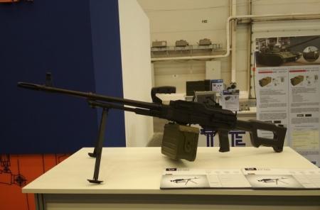 В Киеве на выставке представили новый украинский пулемет КТ-7,62