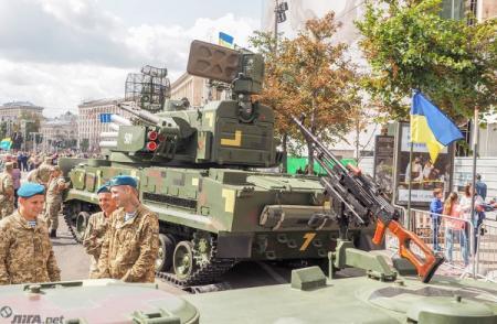 Украина впервые продемонстрирует военную технику на выставке в США