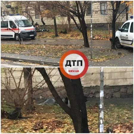 В Киеве на проспекте Соборности нашли труп