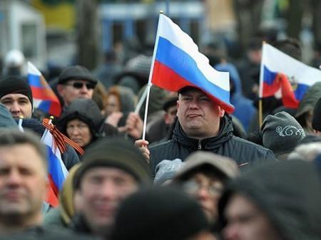 В РФ заявили о «спасении русских» по всему миру