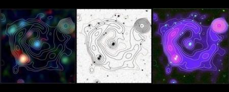 Астрономы обнаружили призрачный круг во внегалактическом пространстве