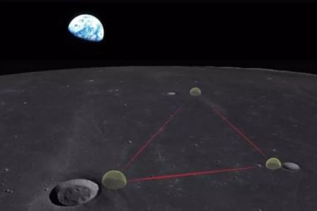 Детектор гравитационных волн на Луне может открыть новую физику