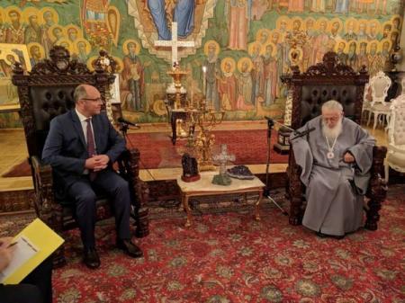 Грузинская церковь выступила за предоставление УПЦ автокефалии