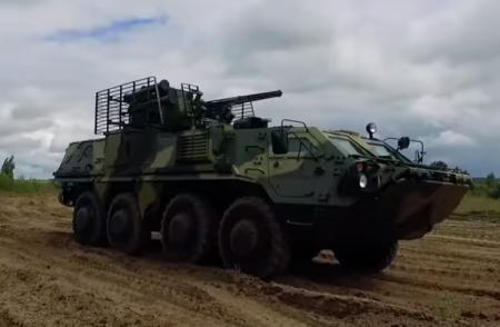 В Харькове начали первую экспериментальную сборку корпуса БТР-4