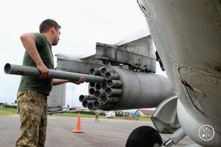 Минобороны показало бой украинских миротворцев на вертолетах МИ-24 в Конго