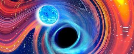 Ученые подтвердили первое столкновение черных дыр и нейтронных звезд