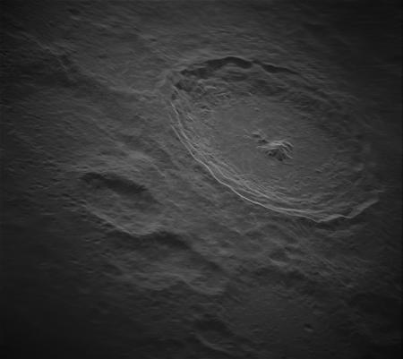 Кратер Тихо на Луне показали в мельчайших деталях