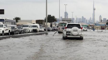 Циклон в ОАЭ: Аэропорт Дубай затопило