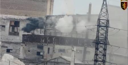 Бойцы ООС уничтожили российскую переносную станцию разведки