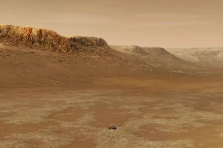 У древнего Марса могли быть ледяные облака