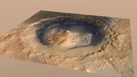 Вода на Марсе исчезла не сразу