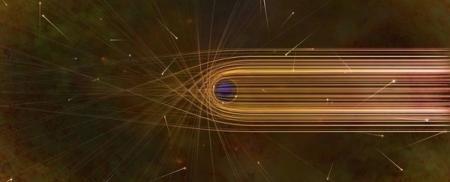 Математики описали искажение Вселенной черной дырой