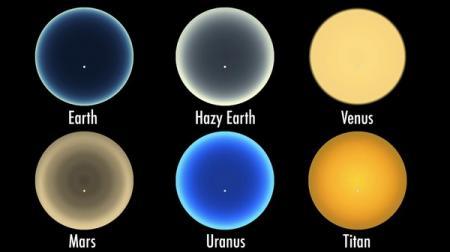 NASA показало внеземные рассветы
