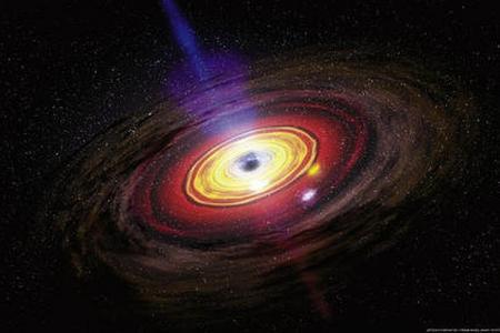 Астрономы: В черных дырах скрывается нескончаемый хаос