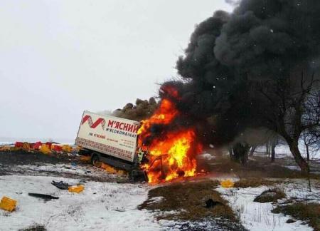 Масштабное ДТП возле Павлограда: трое погибших