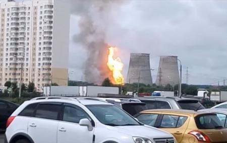 Пожар на ТЭЦ под Москвой: стало известно о жертвах