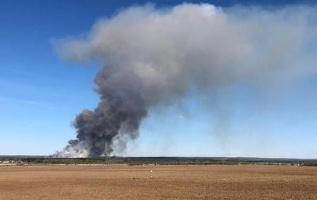 В России из-за взрывов снарядов перекрыта федеральная трасса