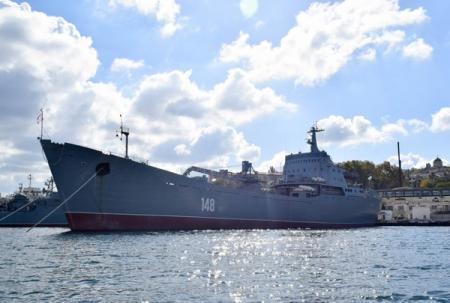 Военный корабль России вошел в Средиземное море