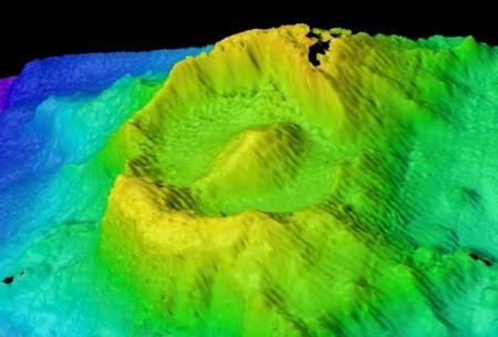 Обнаружен древний глаз Саурона, и это подводный вулкан