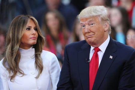 СМИ утверждают, что Мелания и Дональд Трамп готовятся к разводу
