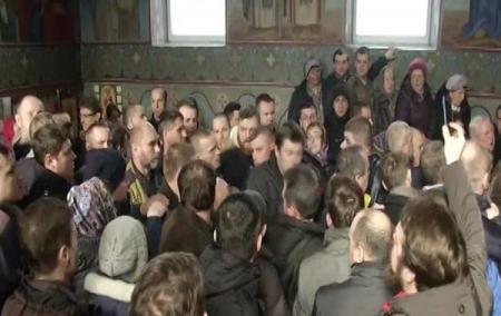 Под Киевом прихожане конфликтовали с