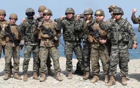 Япония против планов США отказаться от военных учений с Южной Кореей
