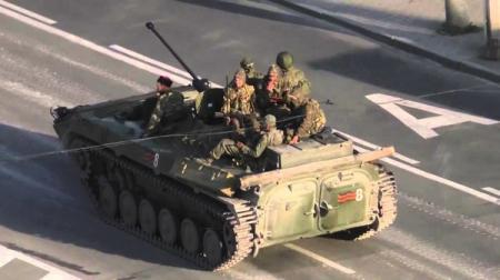 Боевики ЛДНР отправились в Россию получать новую военную технику