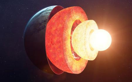 Ядро Земли теряет тепло с одной стороны и ученые не знают причину