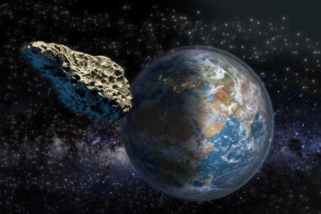 Крупный астероид сблизится с Землей