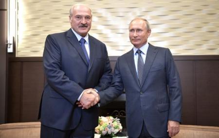 Путін та Лукашенко погодили всі 28 програм для об'єднання Білорусі з Росією